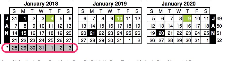 Nrf 2020 Calendar Creating a 4 5 4 Retail Calendar using SQL and dbt | Calogica.com